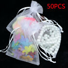 50x organza wedding party decoration favor gift candy bags jewellery pack pouch