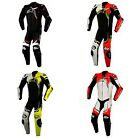 Alpinestars GP Plus V2 Leather 1 Piece Suit BLACK WHITE RED YELLOW