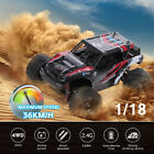 HS18311 2.4G 1/18 4WD RC Off Road Car 36KM/H High Speed Cross-country Car RTR
