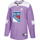 adidas New York Rangers Hockey Fights Cancer Jersey New With Tags Authentic $89.99 USD on eBay