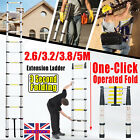 Telescopic Collapsible Ladders Extendable Extending Loft Ladder NO.1 Safe Strong