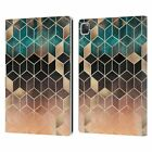 ELISABETH FREDRIKSSON CUBES COLLECTION LEATHER BOOK CASE FOR APPLE iPAD