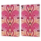 OFFICIAL emoji® FLAMINGOS LEATHER BOOK CASE FOR APPLE iPAD
