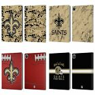 OFFICIAL NFL 2018/19 NEW ORLEANS SAINTS LEATHER BOOK CASE FOR APPLE iPAD $23.95 USD on eBay