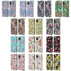 MICKLYN LE FEUVRE FLORALS LEATHER BOOK WALLET CASE FOR APPLE iPHONE PHONES