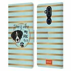 OFFICIAL emoji® DOGS LEATHER BOOK CASE FOR MICROSOFT NOKIA PHONES
