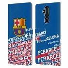 OFFICIAL FC BARCELONA CREST LEATHER BOOK WALLET CASE FOR MICROSOFT NOKIA PHONES