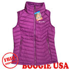 Columbia Women's NWT Powder Lite Vest Jacket Purple SMALL MSRP $110