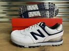 New Balance 574 Spikeless Golf Shoes White Navy Blue Silver SZ ( NBG574WN ) NEW!