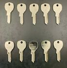 Lots of 10 ILCO 1646R D4301 NTC-14 Key Blanks for Mailbox