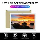 "10.1"" Inch Metal Tablet PC 2.5D Screen Android 9.0 8+128GB Dual SIM GPS Phablet"