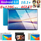 10.1 Inch 4G-LTE Tablet PC Android 9.0 2.5D Screen 8 128GB Dual SIM GPS Phablet