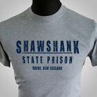Shawshank State Prison T Shirt Movie Themed Retro Redemption Cool Grey