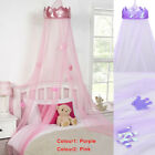 Mosquito Net princess Bed Canopy Girls Bedroom Curtain Dome canopy 2 colour uk