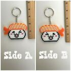 Sushi Keychains Select from 3 choices Key Finder Fanart