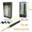 TS80 Mini New Smart Portable Digital Soldering Iron Tool Interface Type C 9V