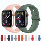For Apple Watch iWatch 5 4 3 2 Silicone Band Watch Strap Bracelet 38/40/42/44mm image