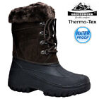 LADIES SNOW BOOTS WINTER WATERPROOF MUCKER THERMAL WELLINGTONS FUR BOOTS SIZE