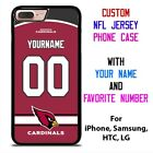 ARIZONA CARDINALS JERSEY NFL Custom Phone Case Cover for iPhone Samsung Galaxy $15.9 USD on eBay
