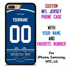 INDIANAPOLIS COLTS JERSEY NFL Custom Phone Case Cover for iPhone Samsung Galaxy $15.9 USD on eBay