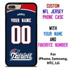 NEW ENGLAND PATRIOTS JERSEY NFL Custom Phone Case for iPhone Samsung Galaxy $15.9 USD on eBay