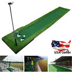 Golf Putting Green System Long Challenging Putter Indoor/Outdoor Training Mat US
