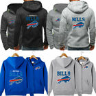 Buffalo Bills Men Hoodie Sweatshirt Hooded Top Jacket Coat Sports Football Fans $24.99 USD on eBay