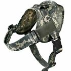 Tactical Dog Harness Military Patrol Pet Dog Collar Harness Dog Vest Handle Dogs