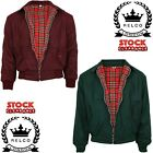 Relco Wool Harrington Jacket Skinhead Mod Scooter Burgundy Green CLEARANCE SALE
