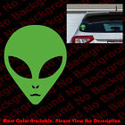 ALIEN Head UFO I BELIEVE Vinyl Decal DIE CUT/Phone/Bumper Car Window Space FY007 $2.5 USD on eBay
