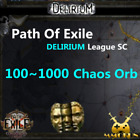 Path of exile Chaos Orb Delirium League Softcore SC POE Currency item Orbs Items