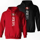San Francisco 49ers - Vertical Design Hoodie - S-2XL $30.47 USD on eBay