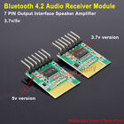 DC 5V/3.7V Mono Stereo Audio Module Bluetooth 4.2 Receiver DIY Amplifier Board