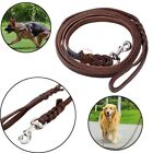 Soft Braided Leather Dog Pets Leash Lead for Training Walking Dog BE6
