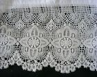 New White Embroidered Lace PillowCases Cotton Sateen  Standard Queen King S3# image