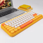 Ajazz Stable Wireless Bluetooth Round Keycap Keyboard For Windows IOS & Android
