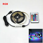 USB LED Strip Light RGB Tape Ribbon SMD 2835 TV Backlight Lamp Colour Changing