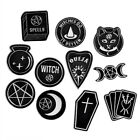 1PC Handmade Badge Magic Witch Ouija Moon Tarot Book Enamel Pins Brooches Gothic image