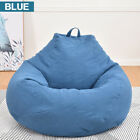 Large Comfy Beanbag Teen Bean Bag Chair Kids Seat Adult Lounger  Chair Cover US