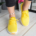 Ladies Trainers Womens Sneakers Lace Up Slip On Classic Jogging Gym Pumps Shoes