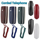 Mini Wall Mount Corded Telephone Landline Phone Home Hotel Office No Caller ID