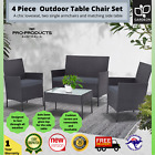 4 Pcs Rattan Outdoor Set Indoor Garden Patio Sofa Couch Wicker Furniture 2 Color