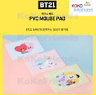 BTS BT21 Official Baby Character PVC Mouse Pad 3 type KPOP Goods Authentic Item