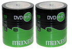MAXELL DVD+R 16X 4,7 GB ROHLINGE SHRINKVERPACKUNG