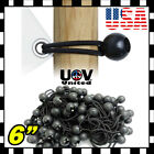 "Bulk Lot 6"" Ball Bungee Bungie Cord Tarp Tie Down Tight Strap Canopy Elastic UU"