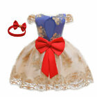Embroidery Kids Girls Dress Party Princess Wedding Bridesmaid Gown Tulle Dresses