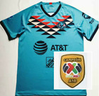 New 2020-2021 Club America Second Away Soccer Jersey Shirt.And The LIGA MX Patch
