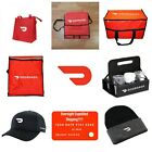All New Doordash Bags, Insulated Tote Catering Pizza Biker Red Card 1 Day Ship!
