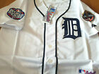 Brand New Detroit Tigers #24 Miguel Cabrera Majestic WS Patch SEWN Jersey WHITE on Ebay
