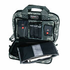 G.P.S. Tactical Quad +2 Pistol Case with MOLLE Webbing, Holds 6 Pistols